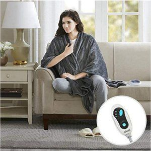Comfort Spaces Microplush 1Piece Electric Blanket